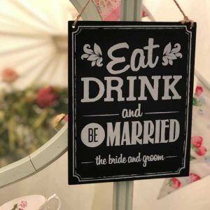 Wooden Chalkboard Signs