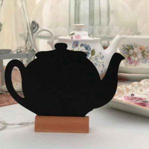 Small Chalkboard Teapot Signs