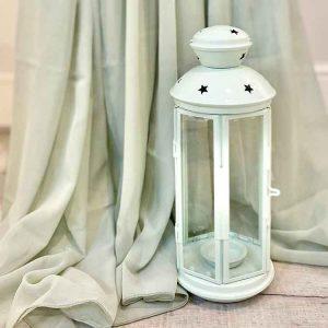 Sage Metal Lantern